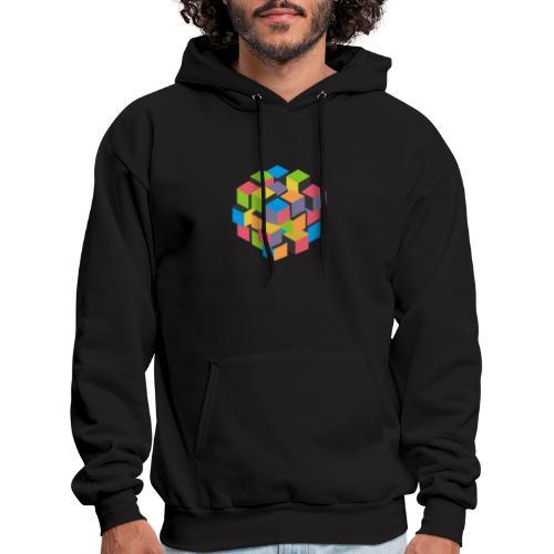 Rainbow T-shirt - It's complicated, isn't it? - Men's Hoodie