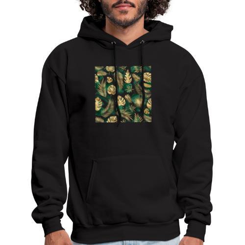 leaf overlay 1 - Men's Hoodie