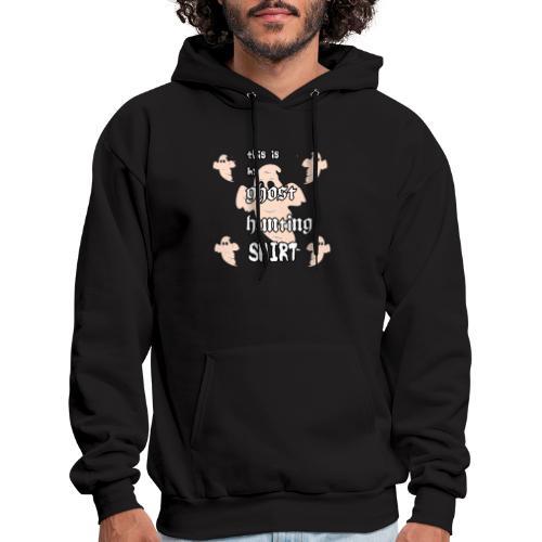 Ghost hunting shirt - Men's Hoodie