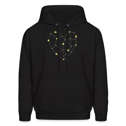 Heart in the Stars - Men's Hoodie