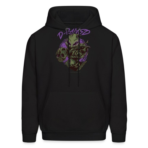 D-RaNGD Voodoo Ghost Logo - Men's Hoodie