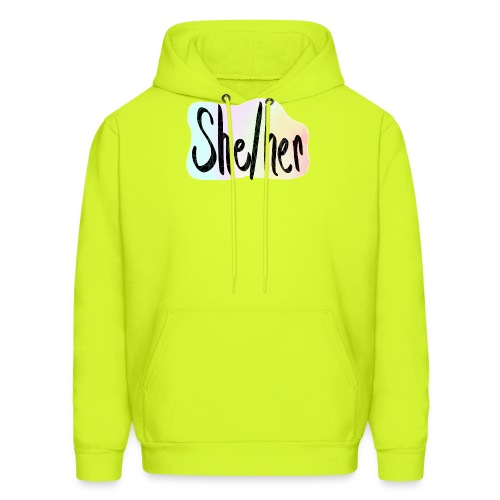 She/Her 1 - Large - Men's Hoodie