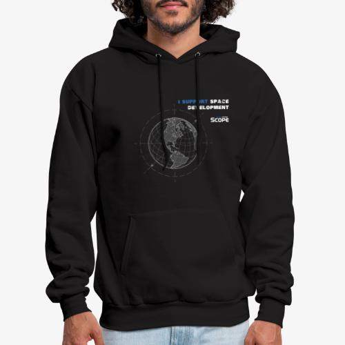 Solar System Scope : I Support Space Development - Men's Hoodie