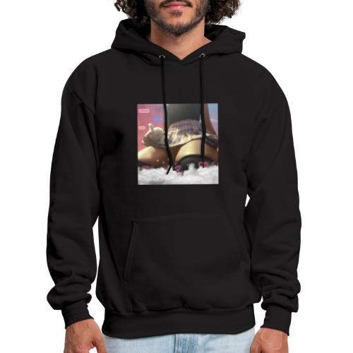 Chocolate waifu black text - Men's Hoodie