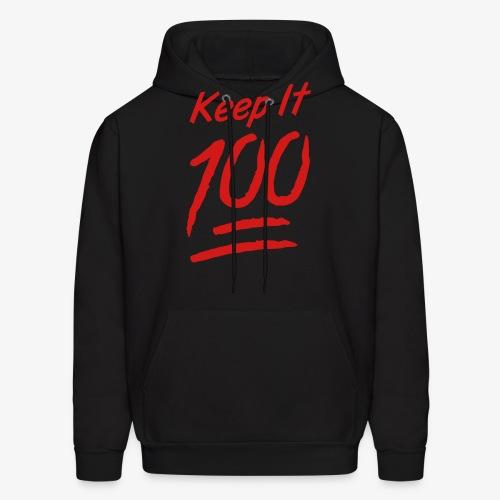 keep it 100 - Men's Hoodie