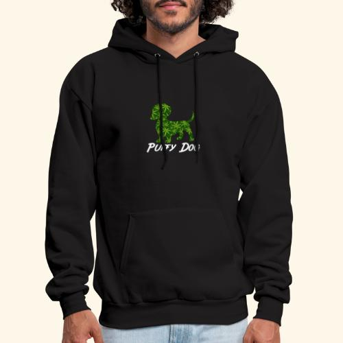 PUFFY DOG - PRESENT FOR SMOKING DOGLOVER - Men's Hoodie