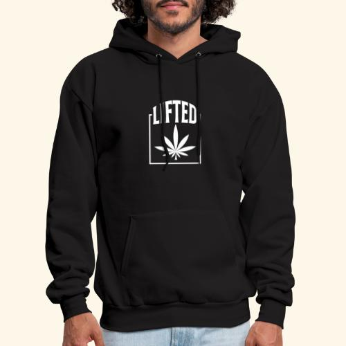LIFTED T-SHIRT FOR MEN AND WOMEN - CANNABISLEAF - Men's Hoodie