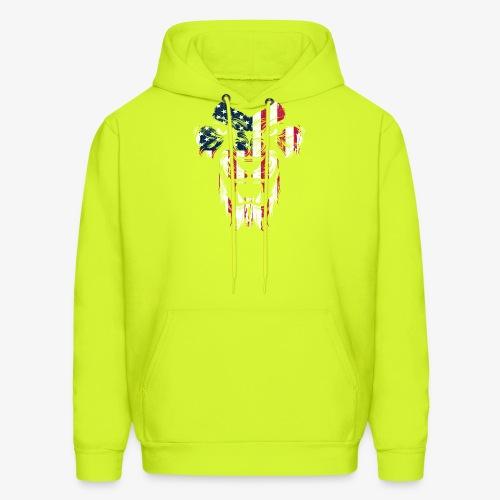 American Flag Lion - Men's Hoodie