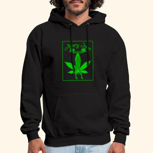 MARJ JANE - PUFF PASS - WEED SMOKER SHIRT FOR MEN - Men's Hoodie