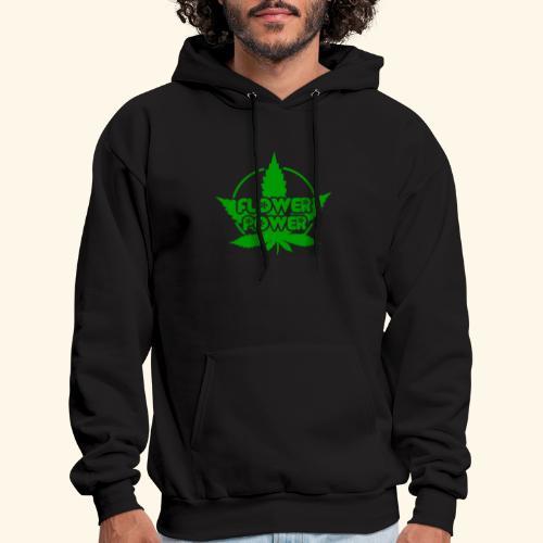 Flower Power Smoker - 420 Hippie Shirt men/women - Men's Hoodie