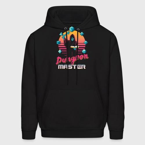dungeon master outrun neon fantasy gift shirt - Men's Hoodie