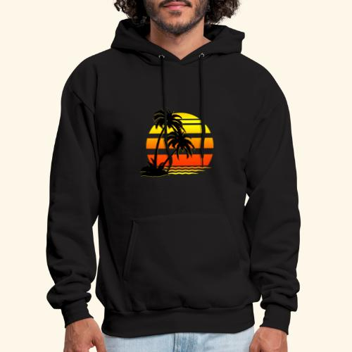 Summer Surfer California Sunset - Men's Hoodie