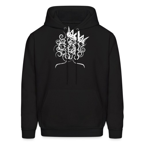Curly Queen with Crown_ GlobalCouture Women's T-Sh - Men's Hoodie