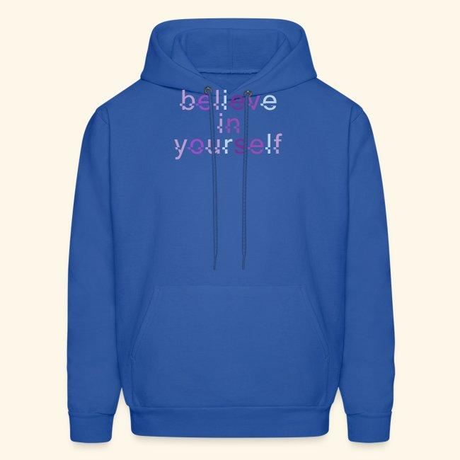 BELIEVE IN YOURSELF M PURPLE #4