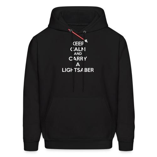 kc lightsaber final - Men's Hoodie
