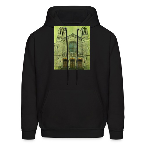 Green gothic cathedral - Men's Hoodie