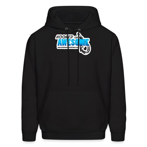 Hooked on Awesome - Men's Hoodie