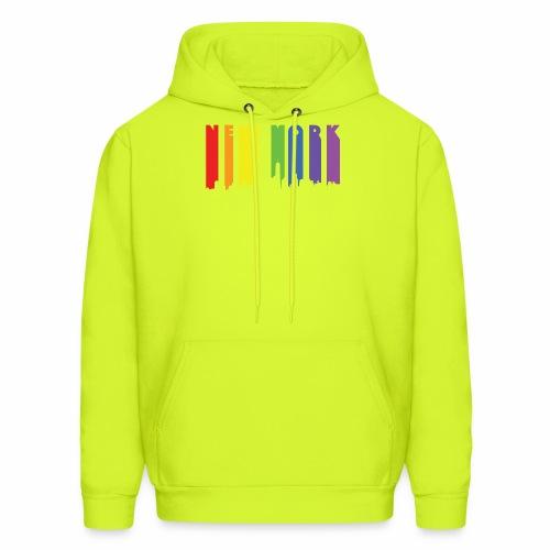 New York design Rainbow - Men's Hoodie