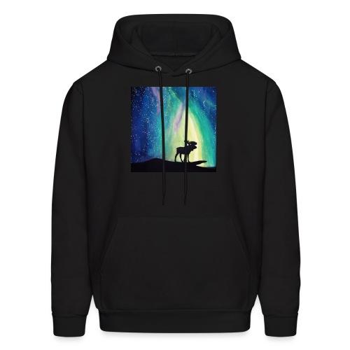 Night Moose - Men's Hoodie
