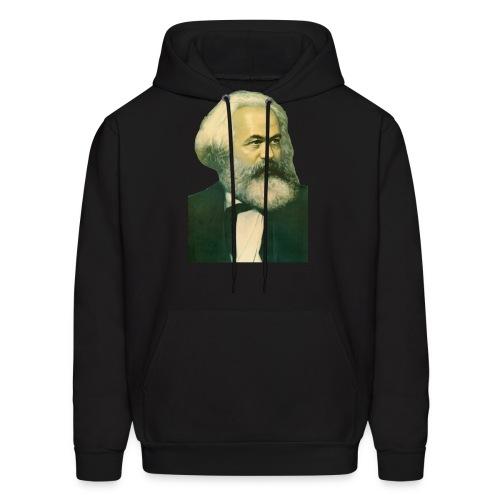 Karl Marx Portrait - Men's Hoodie