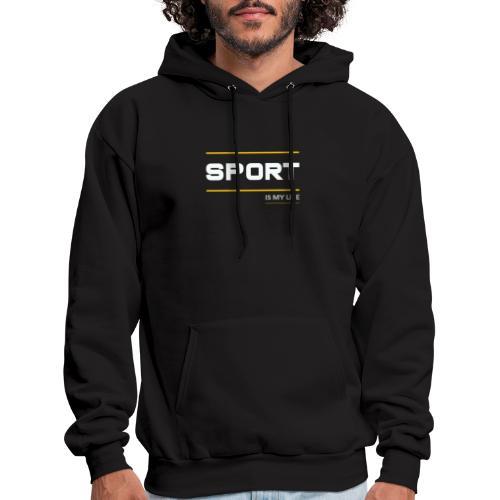 TShirt That Says Sports - Sports TShirt - Men's Hoodie