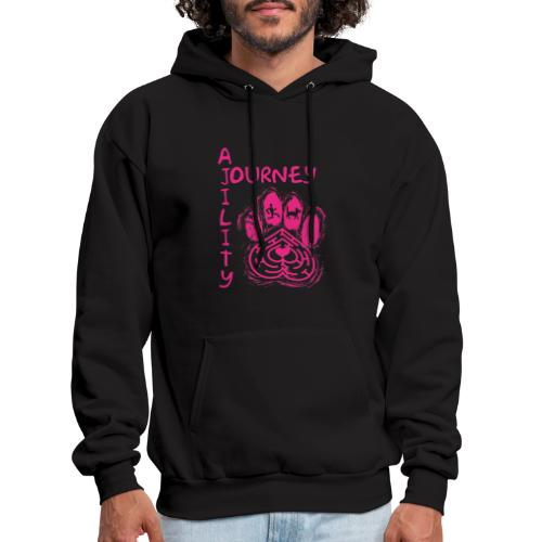 Journey Agility With Woot on Back - Men's Hoodie
