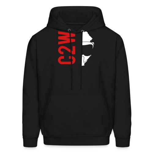 ChaseOnTwoWheels Split Logo - Men's Hoodie