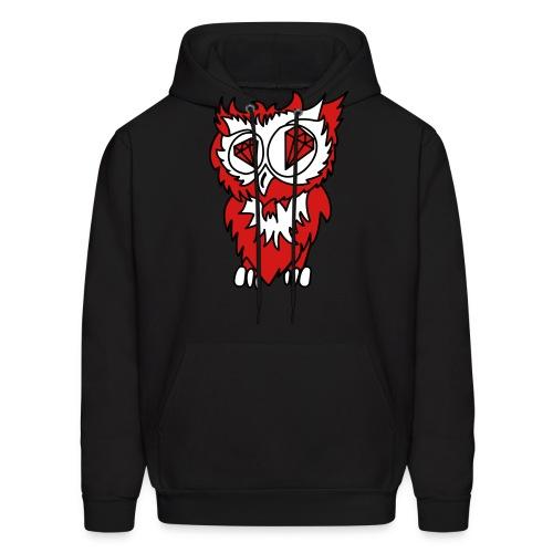 owl vector - Men's Hoodie