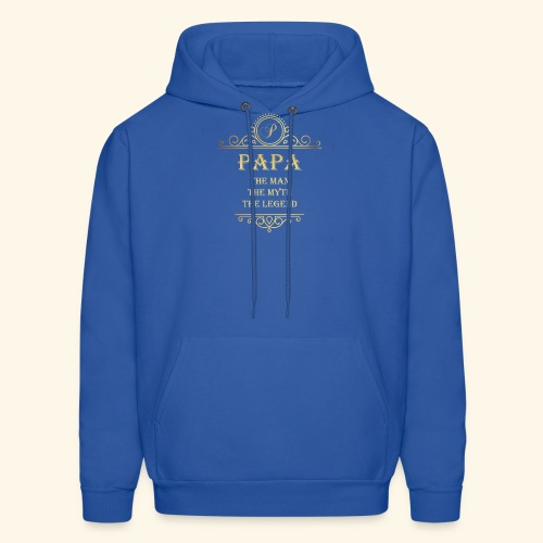 Papa the man the myth the legend - 2 - Men's Hoodie