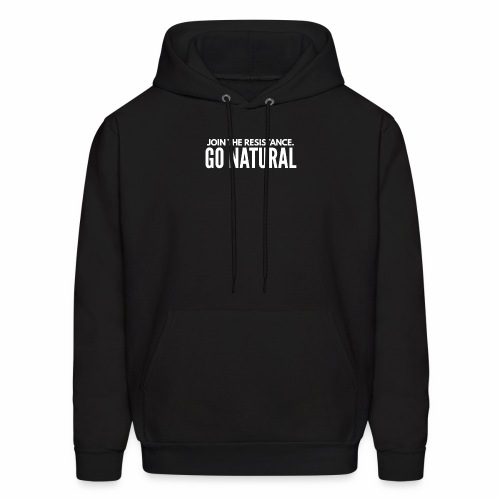 Join The Resistance. GO NATURAL Hoodie Dress - Men's Hoodie