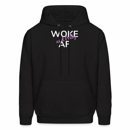 Woke and Petty AF - Men's Hoodie