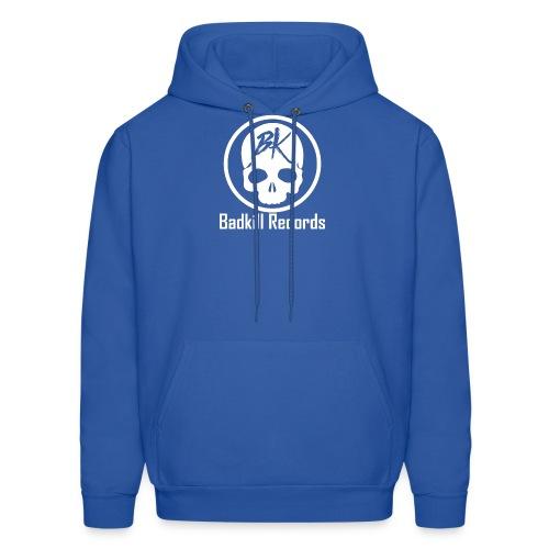 Badkill Logo White - Men's Hoodie