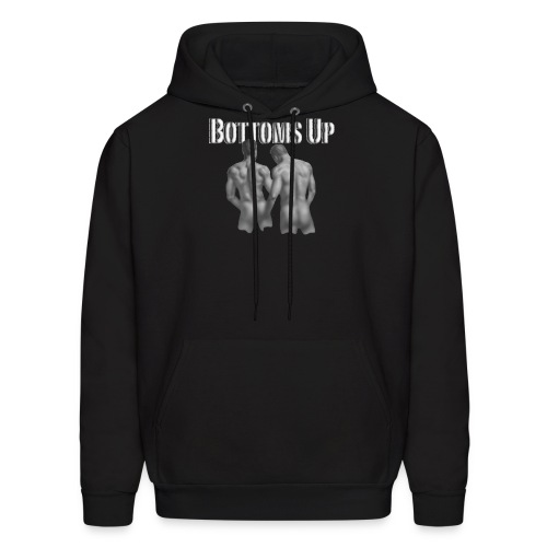 bottoms up - Men's Hoodie