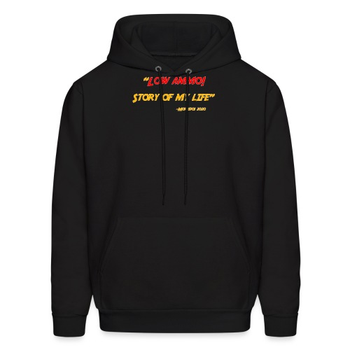 Logoed back with low ammo front - Men's Hoodie