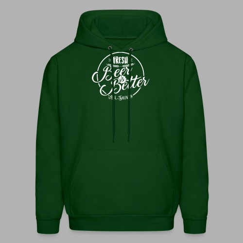 Fresh Beer is Better - Men's Hoodie