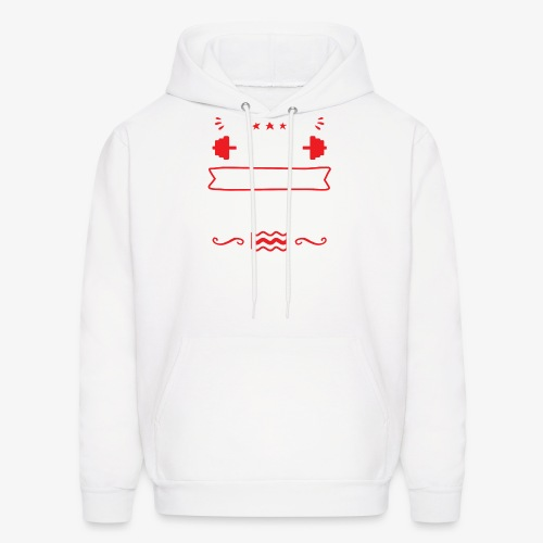 My Head Says Gym But My Heart Says Bacon - Men's Hoodie