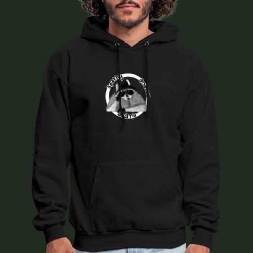 Apathy Raccoon - Men's Hoodie