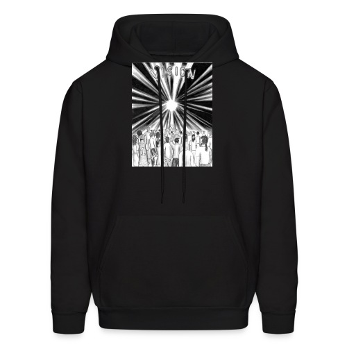 Black_and_White_Vision - Men's Hoodie