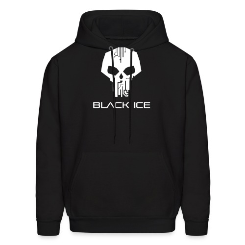 Black Logo Type Vector - Men's Hoodie