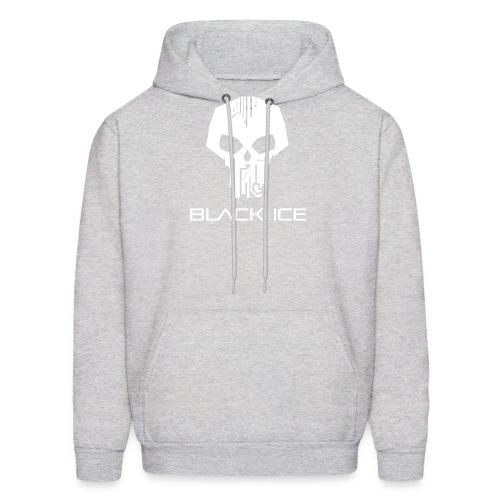 Black Logo Type Vector - Men's Hoodie