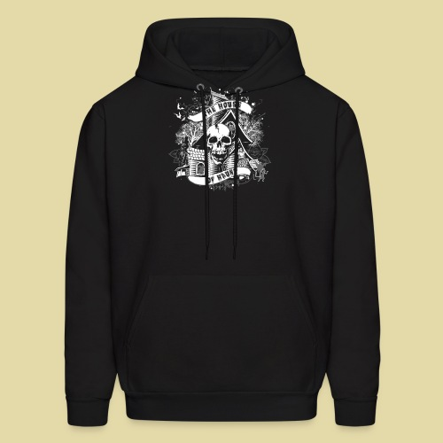 hoh_tshirt_skullhouse - Men's Hoodie