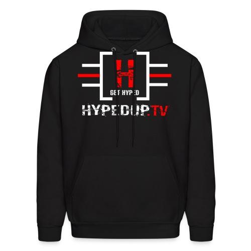 HypedUpTV Red/White - Men's Hoodie