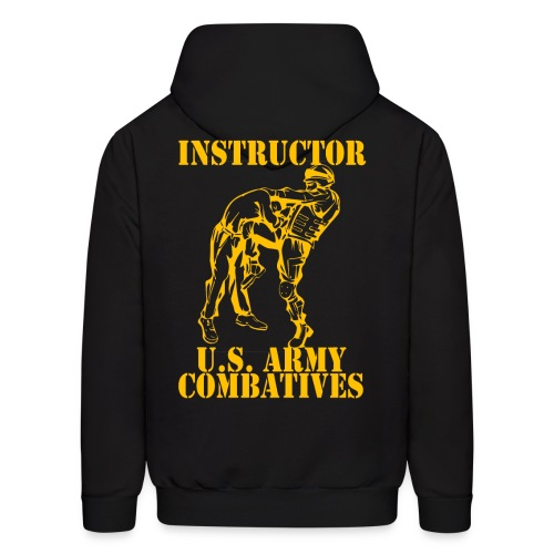 Army Combatives Knee Instructor Gold - Men's Hoodie