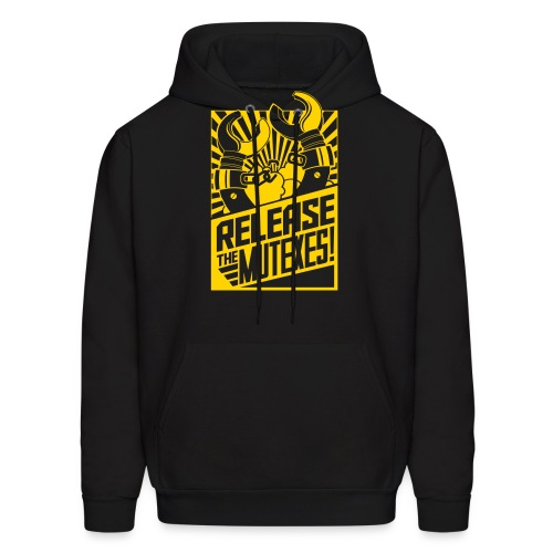 Release the Mutexes Negative - Men's Hoodie