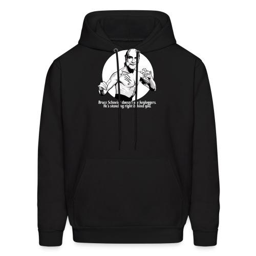 schneier11 martial white - Men's Hoodie