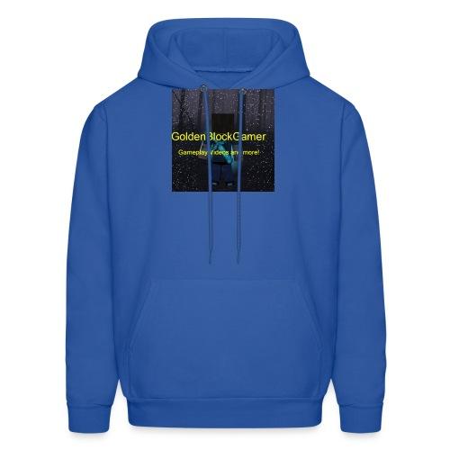 GoldenBlockGamer Tshirt - Men's Hoodie