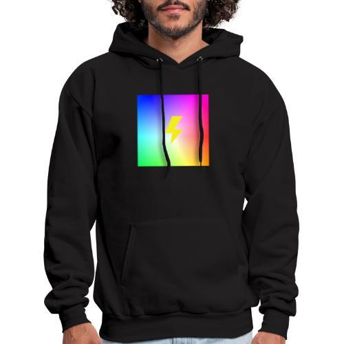 Rainbow lightning t-shirt - Men's Hoodie