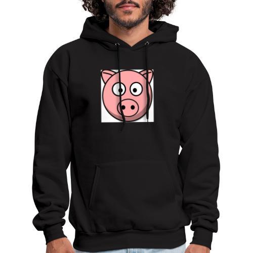 Piggy Mask - Men's Hoodie
