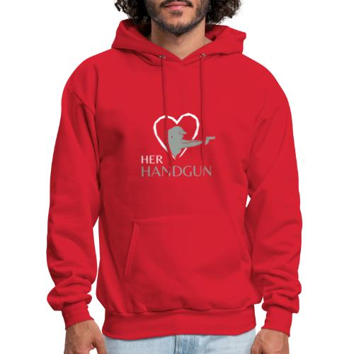 Official HerHandgun Logo - Men's Hoodie