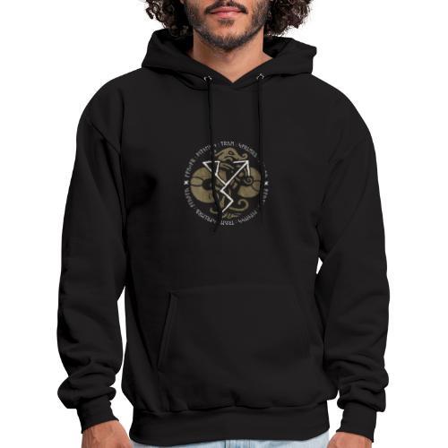 Witness True Sorcery Emblem (Alu, Alu laukaR!) - Men's Hoodie